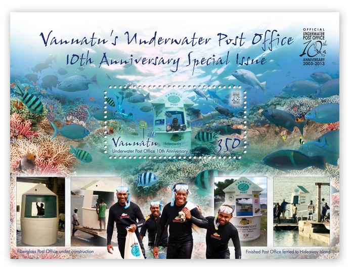 Under Water Post Office 10th Anniversary Special Issue